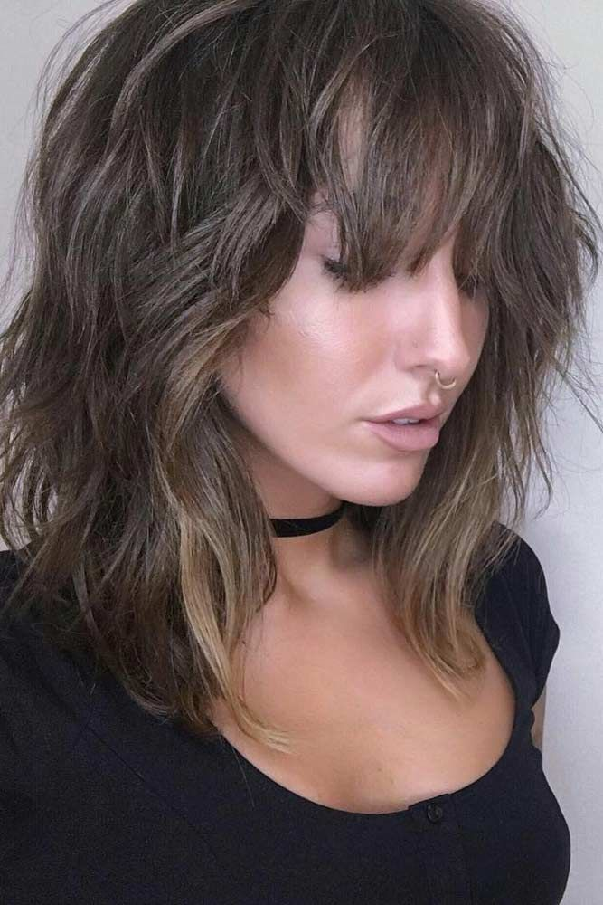 15 Times The Bangs For Round Face Will Rock Lovehairstyles Medium Shag Haircuts Medium Length Hair Styles Modern Shag Haircut