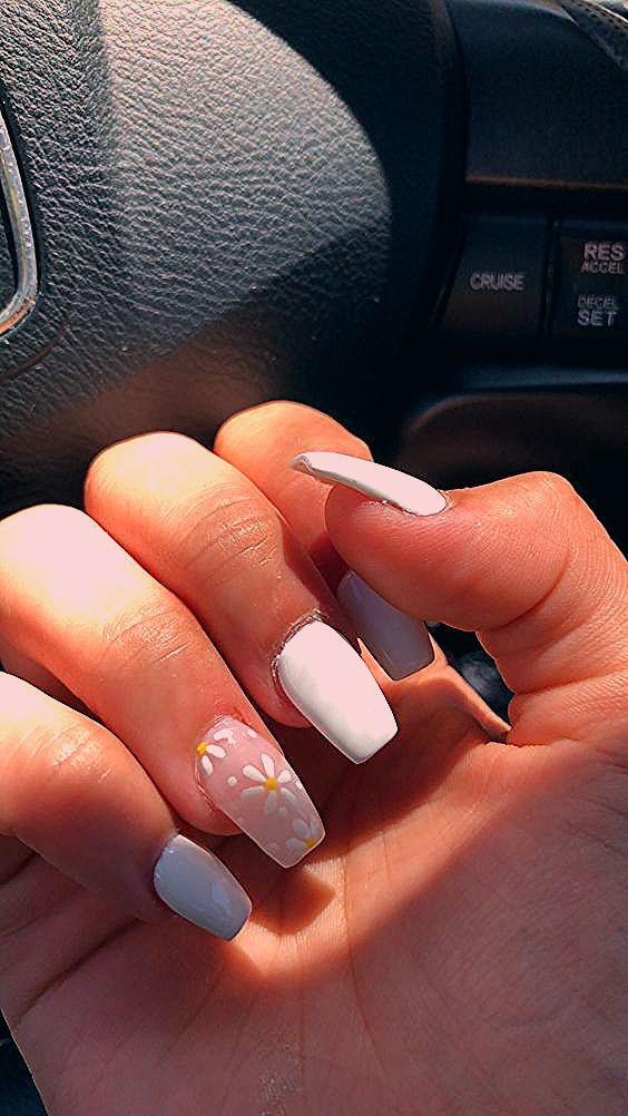 Photo of #Acryl #acrylic Nails #den #für #hübsche #Nägel  – White Acrylic Nails – Water