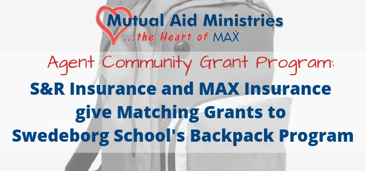 S R Insurance And Max Insurance Give Matching Grants To Swedeborg
