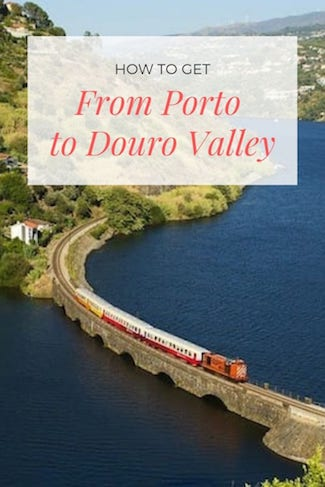 How to get from Porto to the Douro Valley? #visitportugal