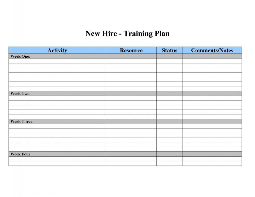 Employee Development Plan Templates Workout Plan Template Employee Development Plan Employee Training Individual employee training plan template