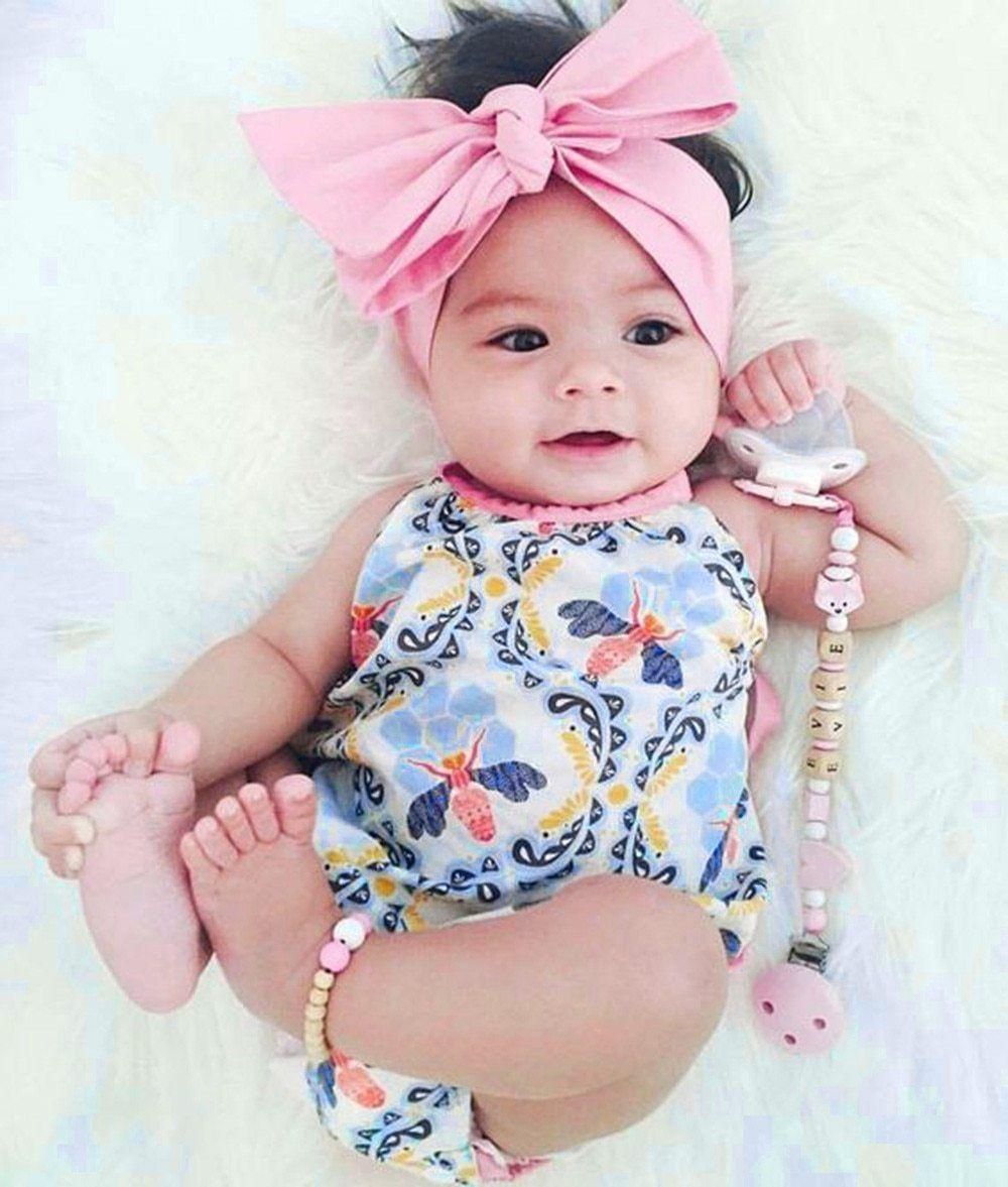 8ecae5ce9 2Pcs Baby Girlsr Jumpsuit Romper+Headband – Purple Hair Don t Care ...