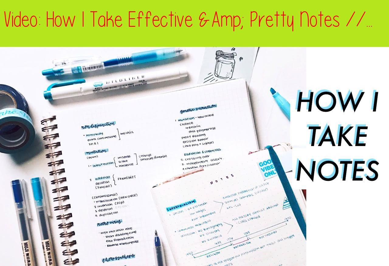How I Take Effective Pretty Notes Study Tips Studying Pretty Notes Study Tips Study