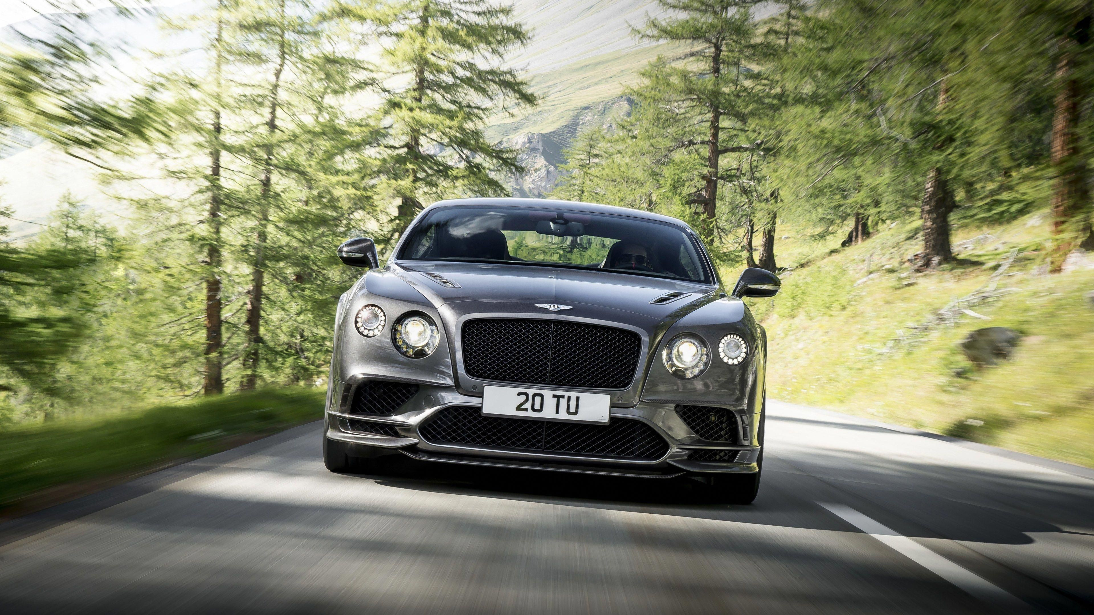 Bentley Continental Gt Supersport Front Hd Wallpapers Cars