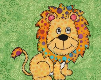 Giraffe pdf applique quilt block pattern baby quilts applique
