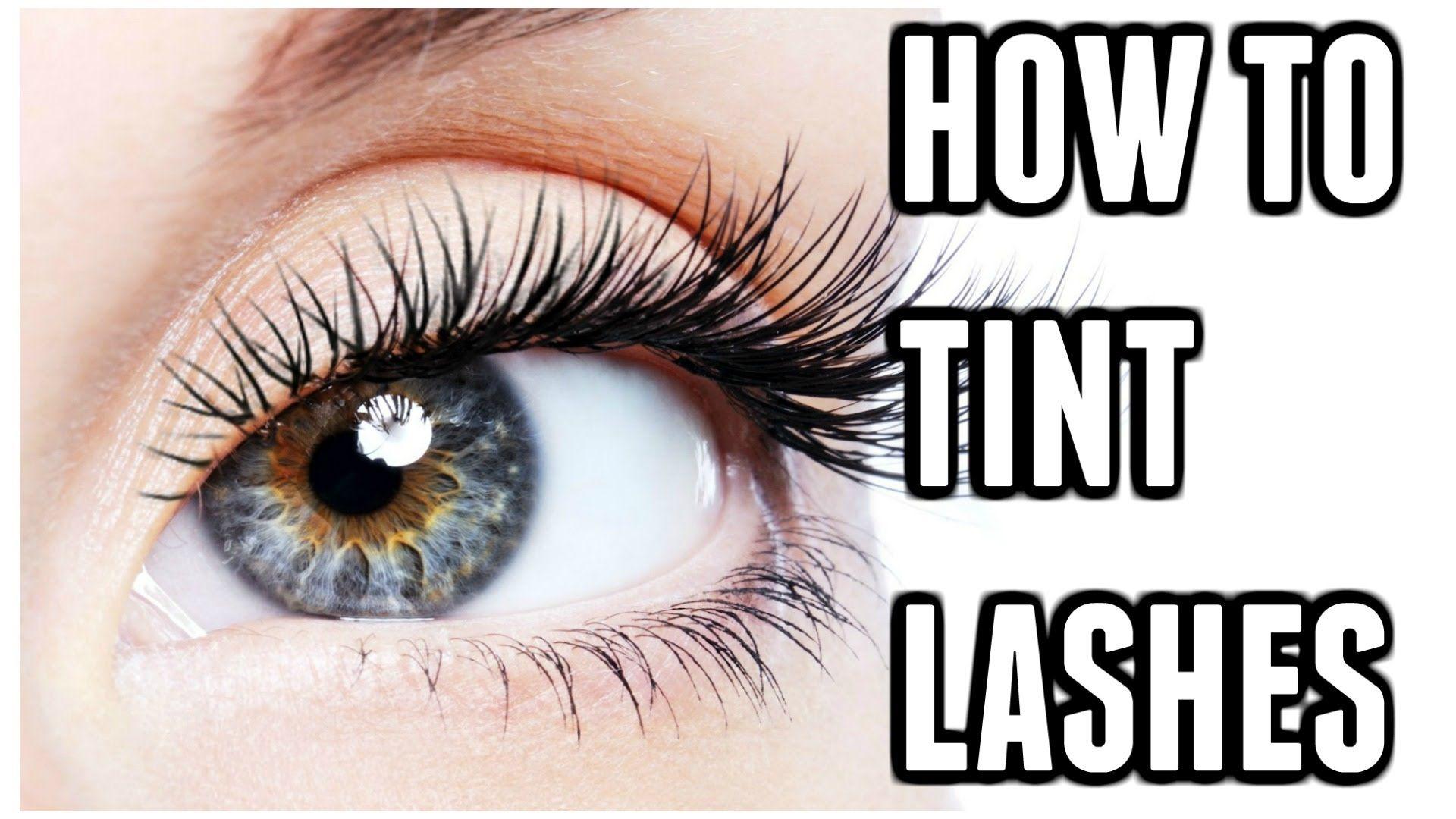 How To Tint Eyelashes At Home Carly Musleh Eyelash Perm