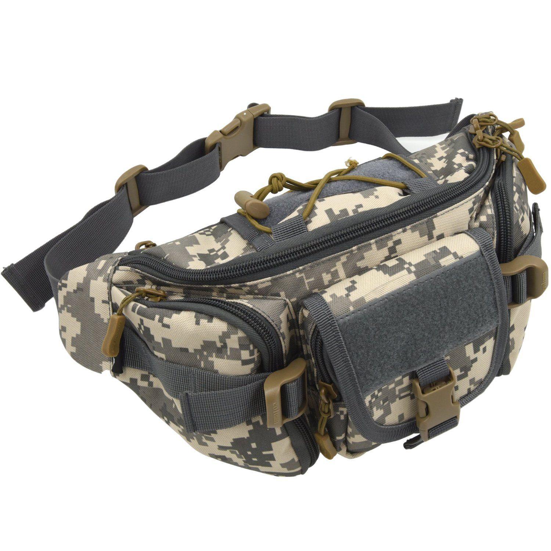991749b3590a Amazon.com: ArcEnCiel® Hip Pack Tactical Waist Packs Waterproof ...
