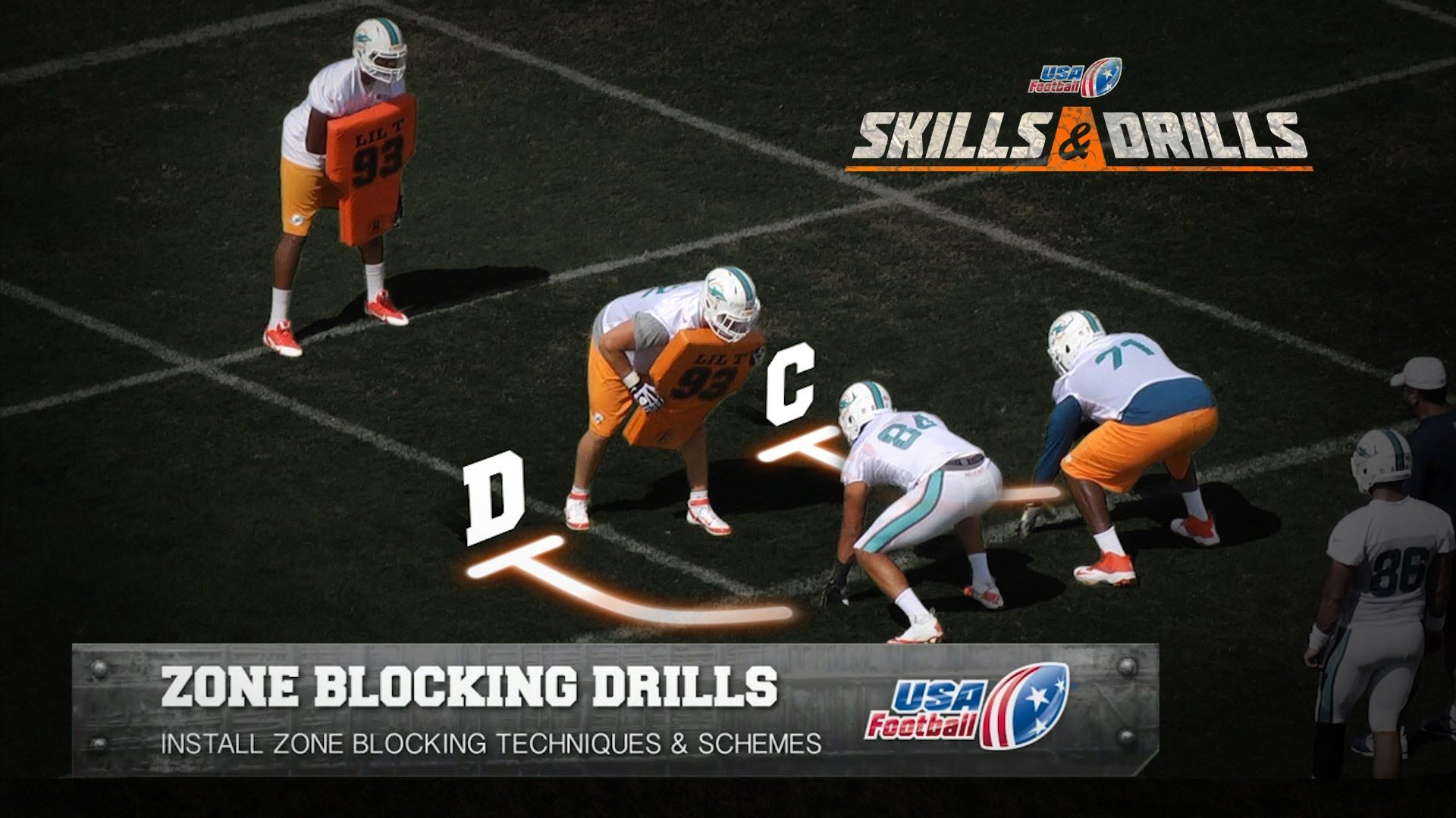 Miami Dolphins Zone Blocking Drills Youth Football Drills, Tackle Football,  Football Gif, Football 0c6dee8cd9