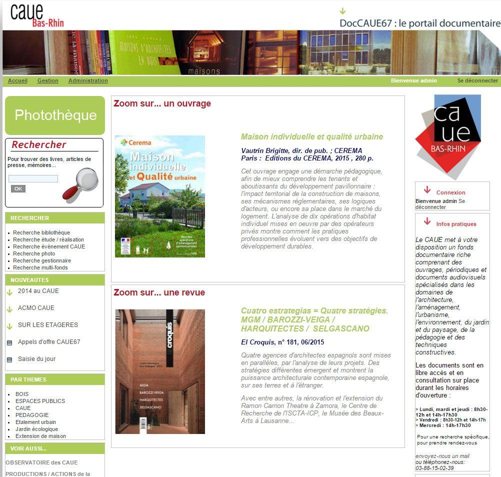 caue du bas-rhin / caue 67 portail documentaire du caue du bas-rhin