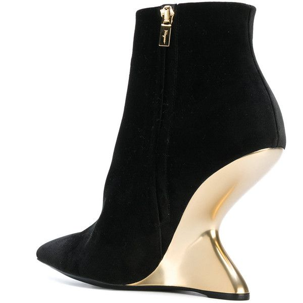 sale perfect Salvatore Ferragamo Suede Pointed-Toe Ankle Boots sale footlocker pictures free shipping pay with paypal AcqDDevb56