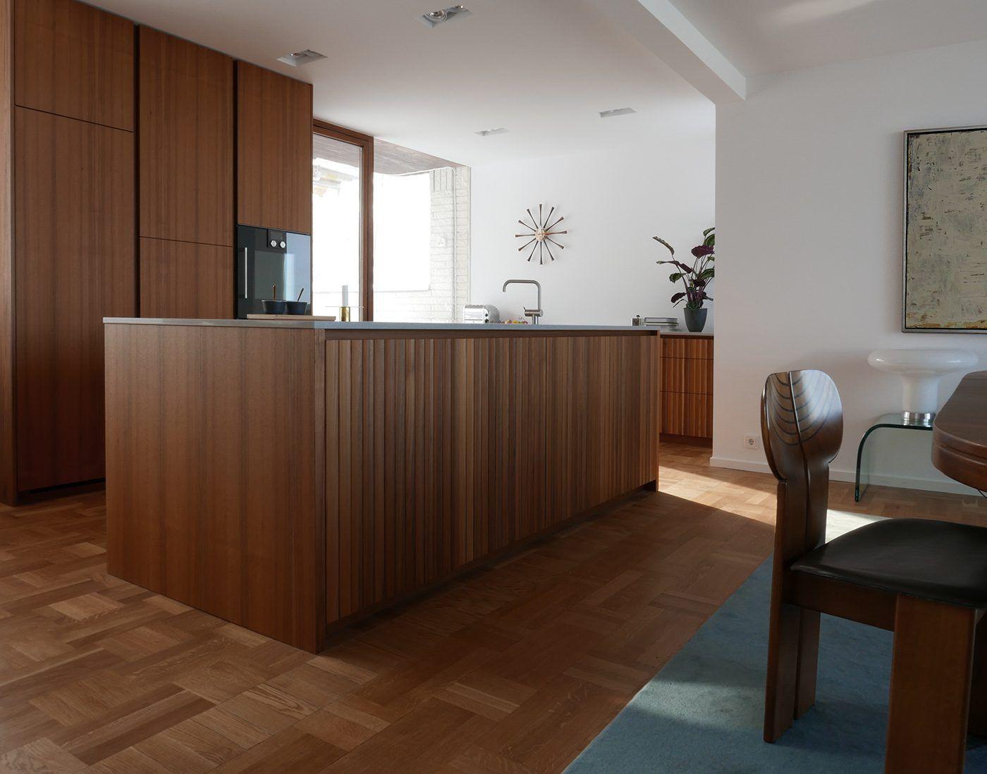 Kitchen Designed By Joanna Laven Teak Kitchen Custom Built Kitchen Kfk Snickeri Modern Kitchen Modern Teak Kitchen Woodwork Kitchen Desig Snickerier