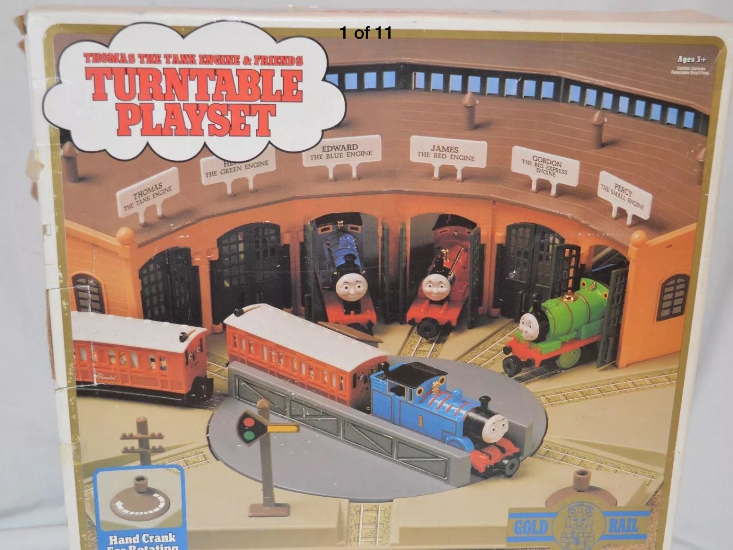 Surprising Thomas The Tank Engine Friends Turntable Playset Home Remodeling Inspirations Genioncuboardxyz