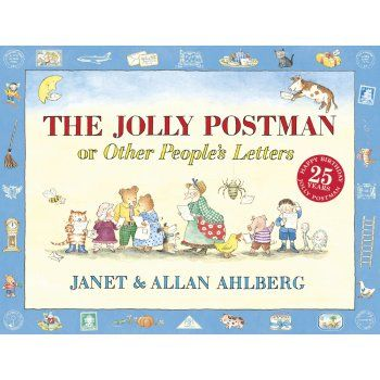 The Jolly Postman - Great for a community helpers unit or a follow