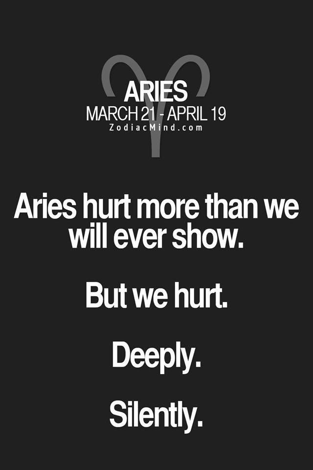 Aries man hurt feelings