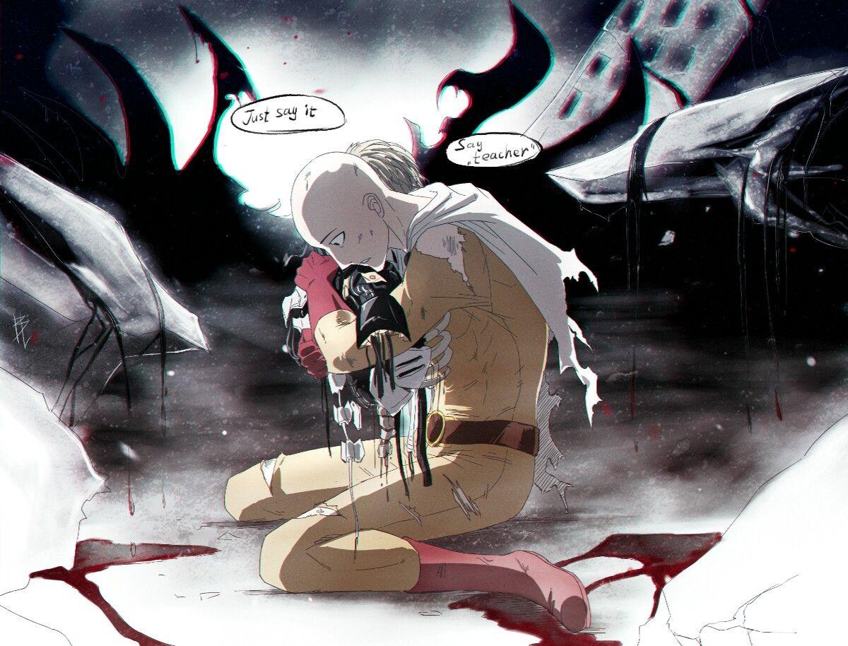 hahaha im dead inside | One punch man, Saitama one punch ...