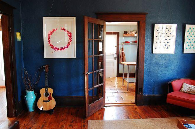 Best Deep Royal Benjamin Moore Dark Blue Bedrooms Blue 400 x 300