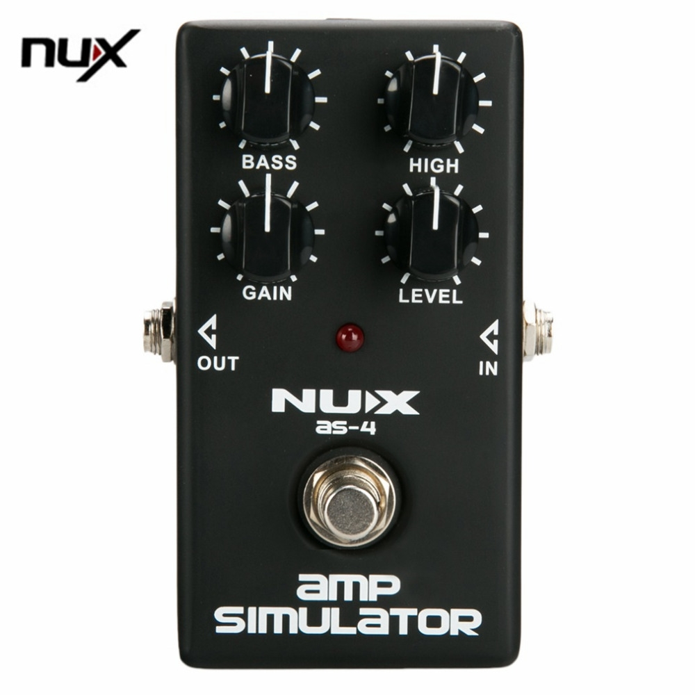 21.80$  Buy here - http://ali0vg.shopchina.info/go.php?t=32779304341 - NUX AS-4 Mini Guitar Distortion Effect Pedal Guitar Simulator Booster Professional Guitar Simulation Chorus Effect Device 21.80$ #shopstyle