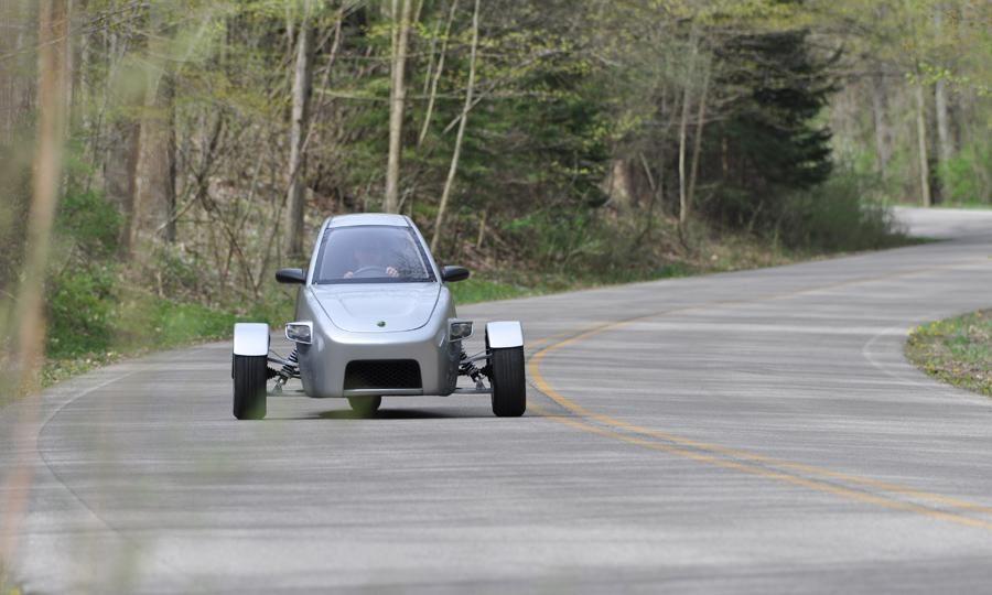 Elio Motors Three Wheel Vehicle Prototype Hot Rodding