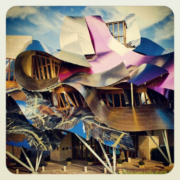 Frank Gehry Hotel Bodega Marques De Riscal Education Frank Gehry