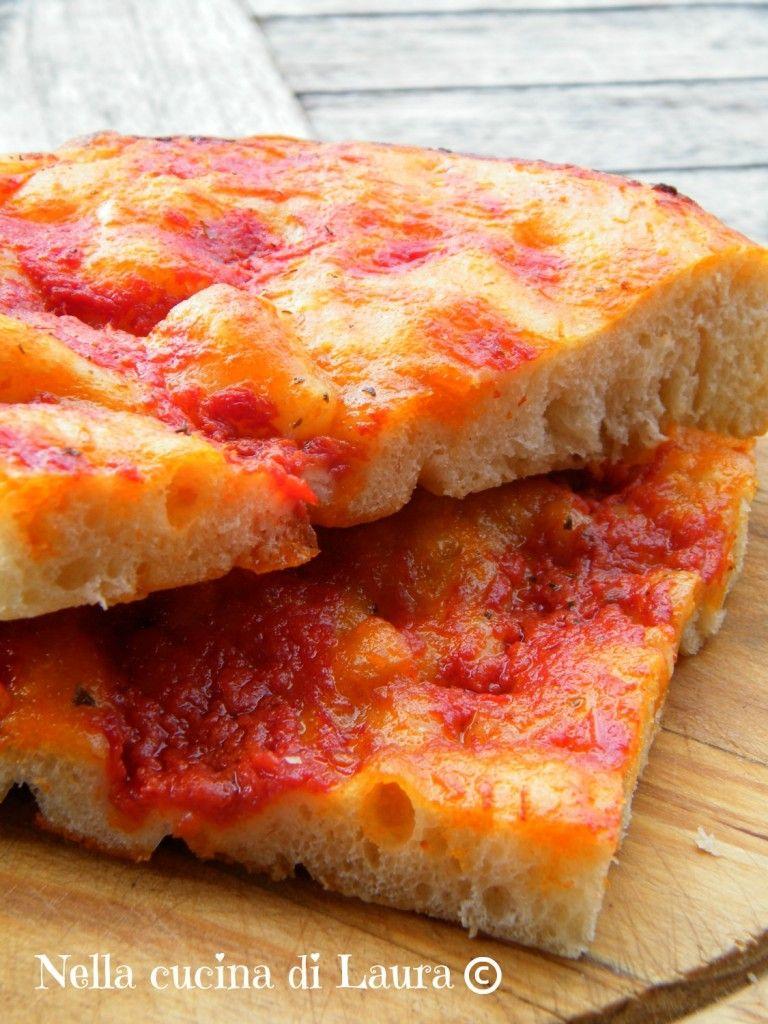 Focaccia alta e soffice al pomodoro pizze focaccia for Alta cucina italiana