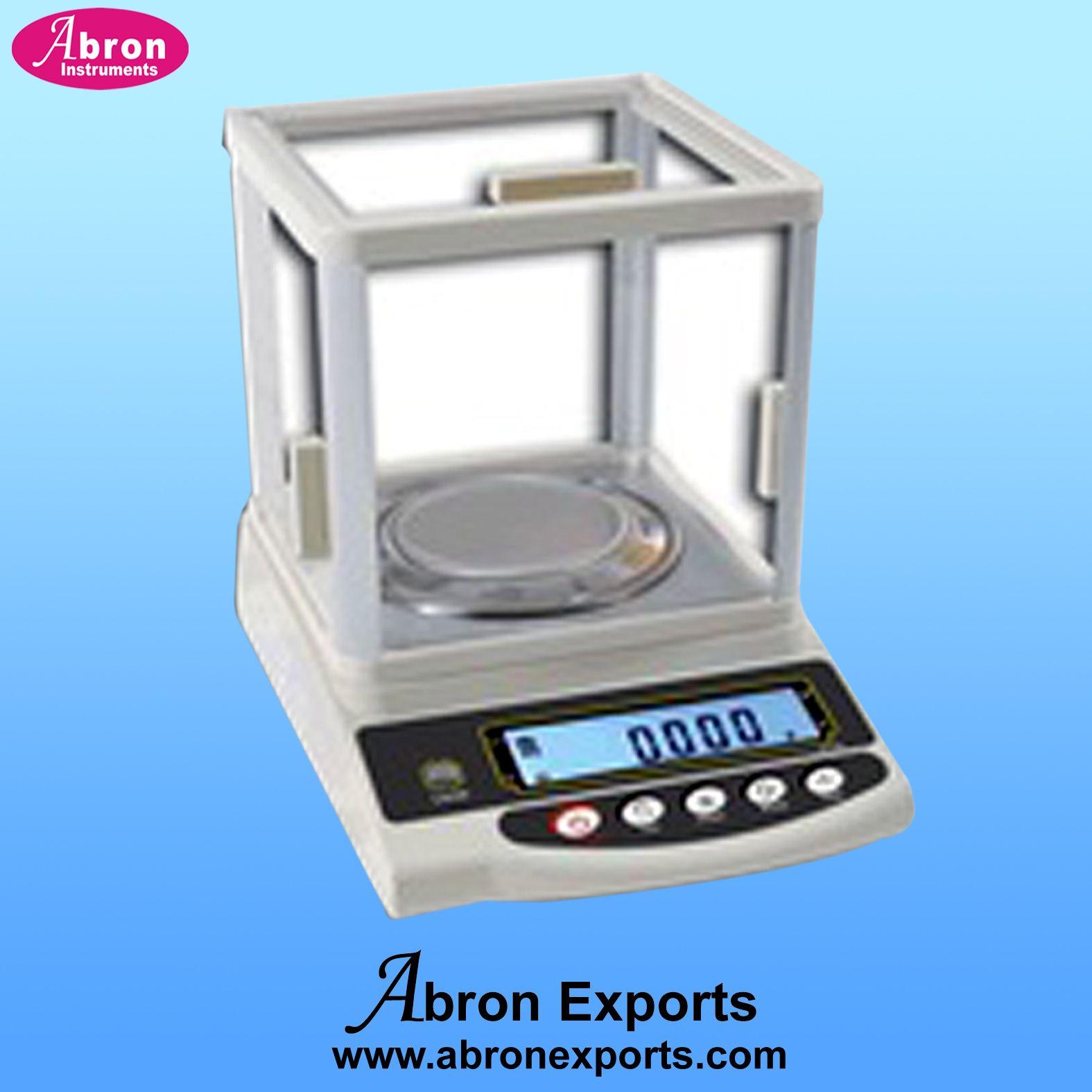 Abron Digital Balance 200gm 1mg with air shield | Abron Laboratory ... for Balance Laboratory Apparatus  155sfw
