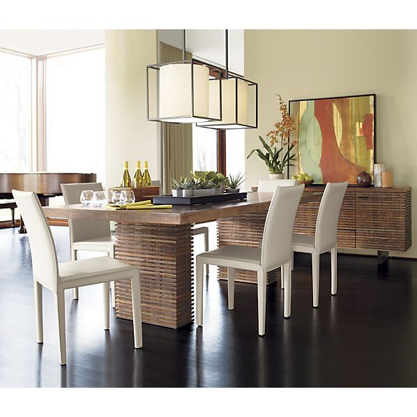 Paloma Ii Dining Table In Dining Tables Crate And Barrel