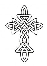 Celtic Cross Coloring Pages Page 1 Cross Coloring Page Celtic Coloring Celtic Designs