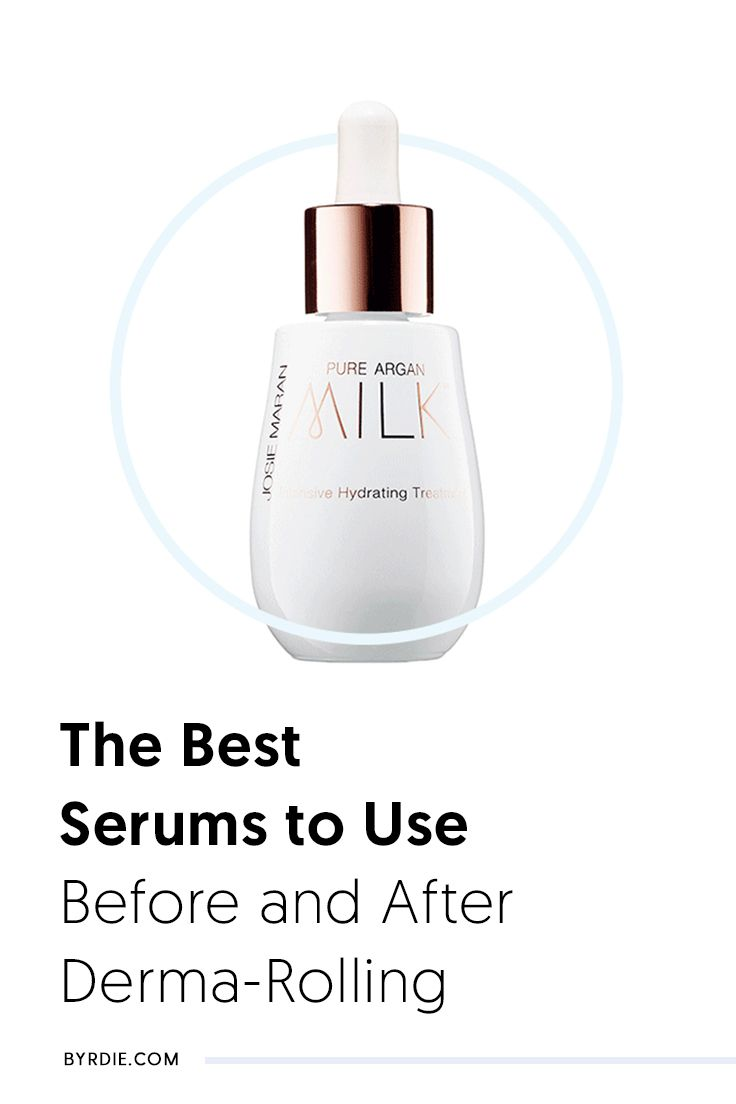 The 10 Best Serums to Use Before and After Derma-Rolling