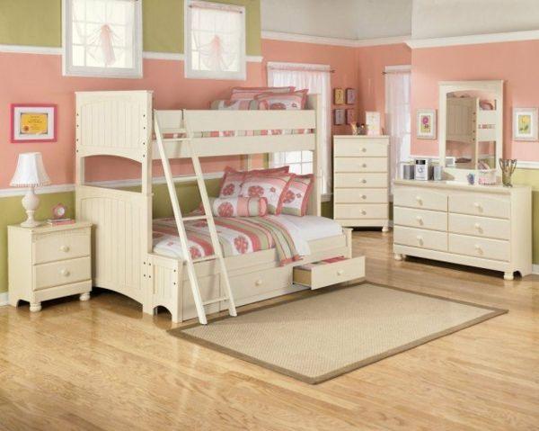 Hochbett im Kinderzimmer 100 coole Etagenbetten für