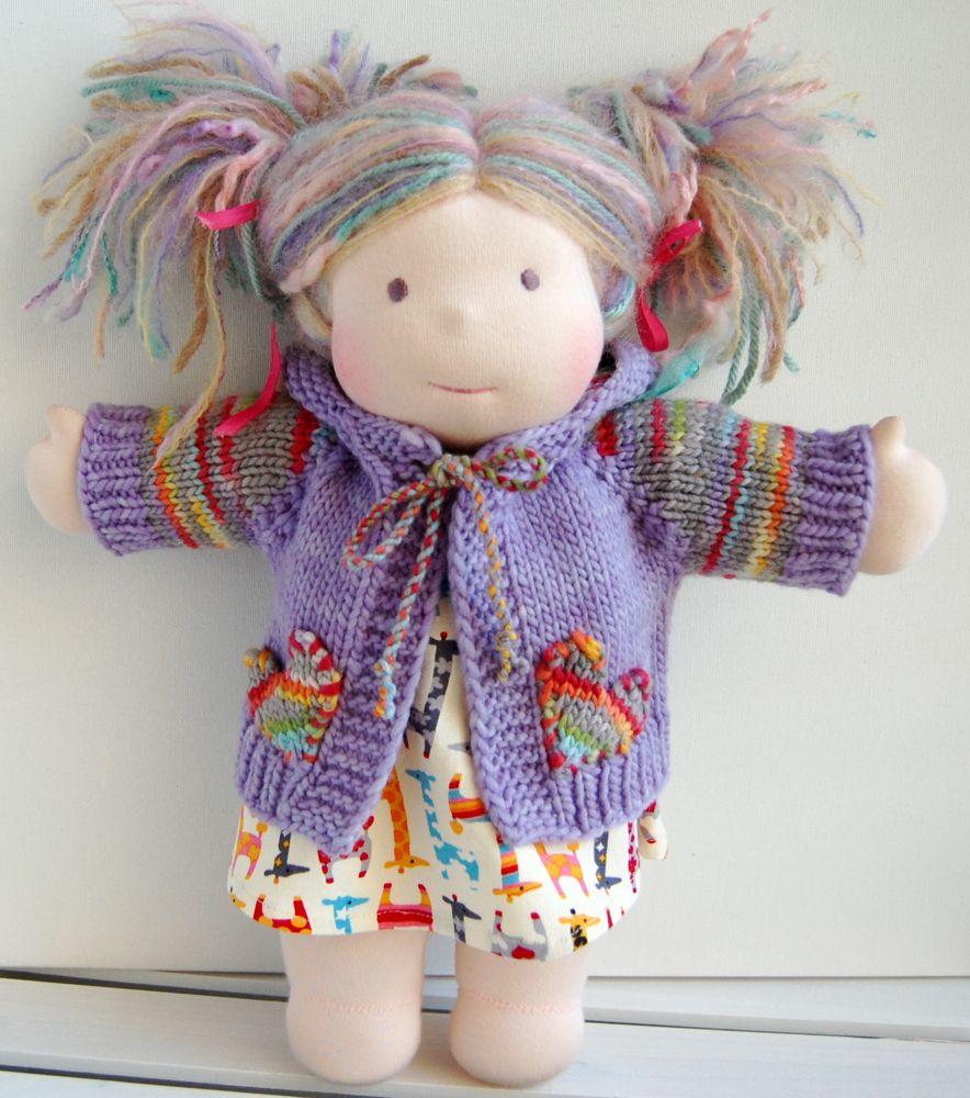 Tomboy knits Waldorf Doll hoodie | Waldorf Dolls | Pinterest | Dolls ...