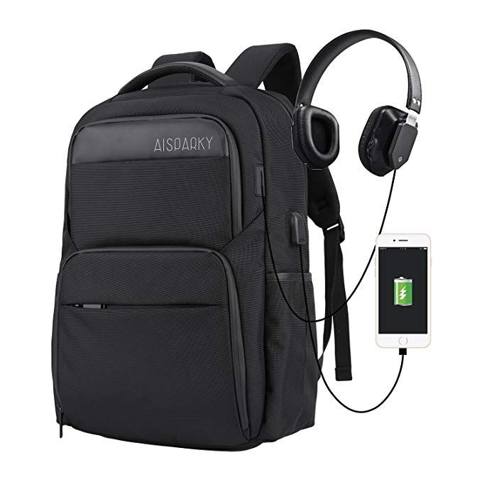 Business rucksack reyleo reise laptop backpack mit türkis futter 15 ... 872da11eb284e