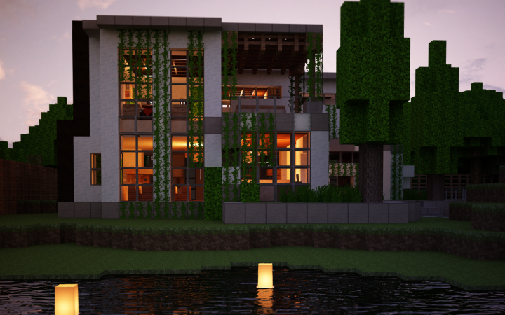 Modern Architecture House Minecraft a post featuring 16 great examples of modern minecraft house