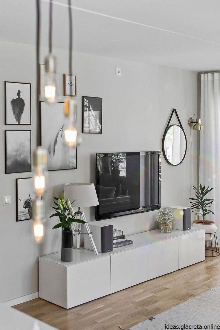 20 Best Ideas To Install A TV In A Small Living Room in 20 ...