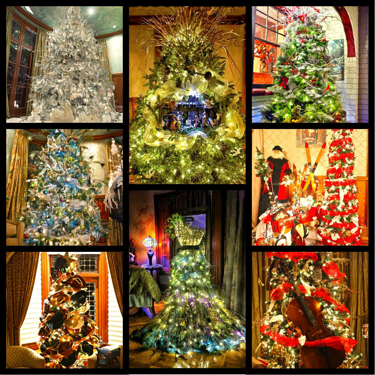 Stetson Mansion Christmas Spectacular 2020 Stetson mansion   Christmas tours, Modern christmas, Christmas