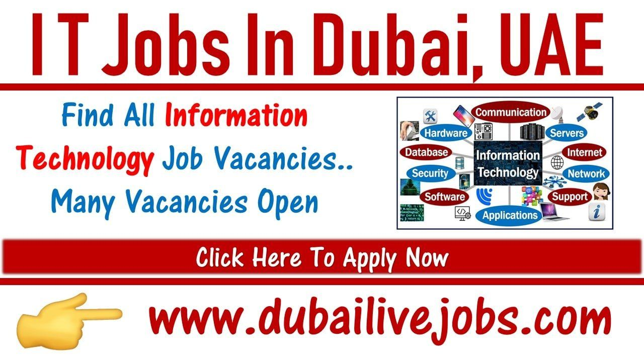 It Jobs In Dubai Across Uae 2021 Smart Salary Packages Technology Job Good Cv Job