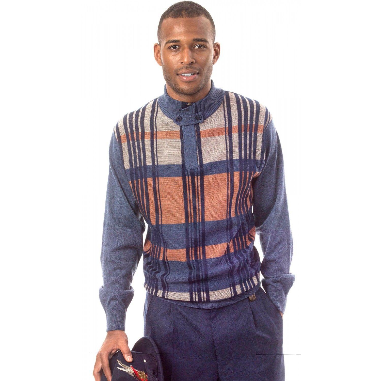 Montique Men's Two Piece Sweater Set 1506