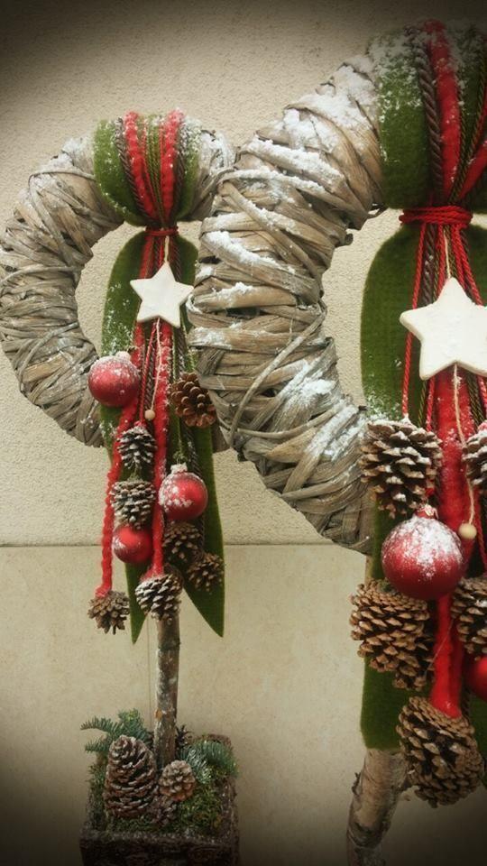 Photo of Adventskranz Adventskranz Ideen #Weihnachten #Ideen #Kranz #Rusti …