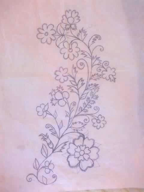 Pin By Sarah Ismail On Patternsfabric Paint Embriodery Etc
