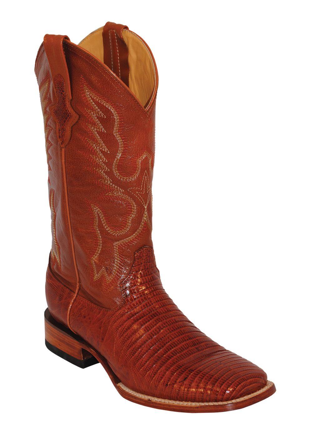 Ferrini USA Men's Peanut Teju Lizard Boots