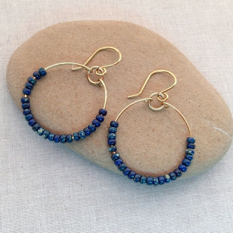 5 DIY Jewelry Projects with Handmade Wire Hoops Handmade wire