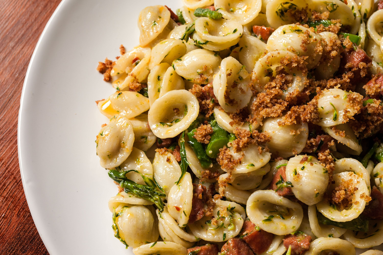 Orecchiette with Sausage and Broccoli Rabe Recipe - CHOW.com