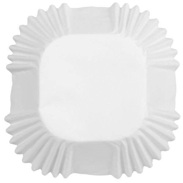 White Square Cup Standard Baking Cup 24 Count By Wilton Cupcake