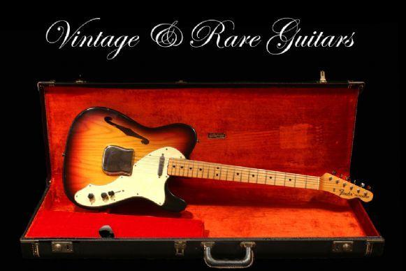 Fender Telecaster Thinline Type I 1969 - Sunburst
