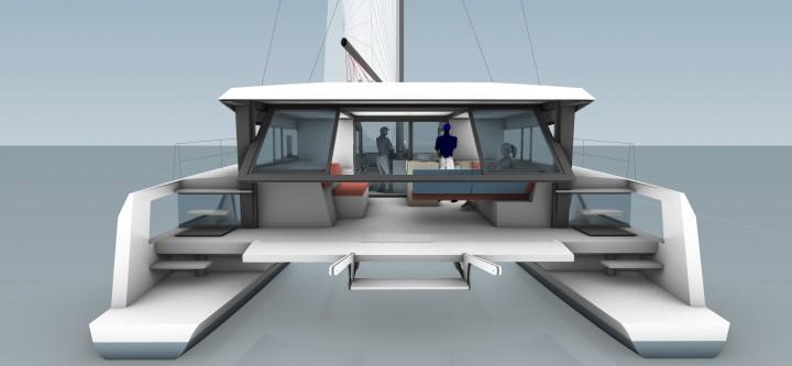 W50 Adventure Windelo Eco Catamarans Vie De Peniche Catamaran A Voile Architecture Navale