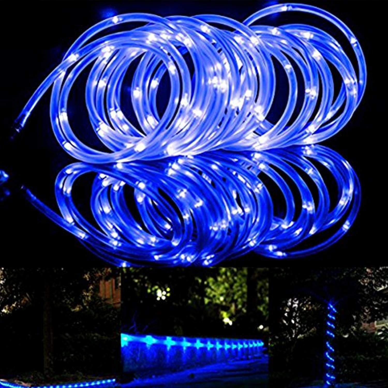 100 Led Rope Lights â Solar