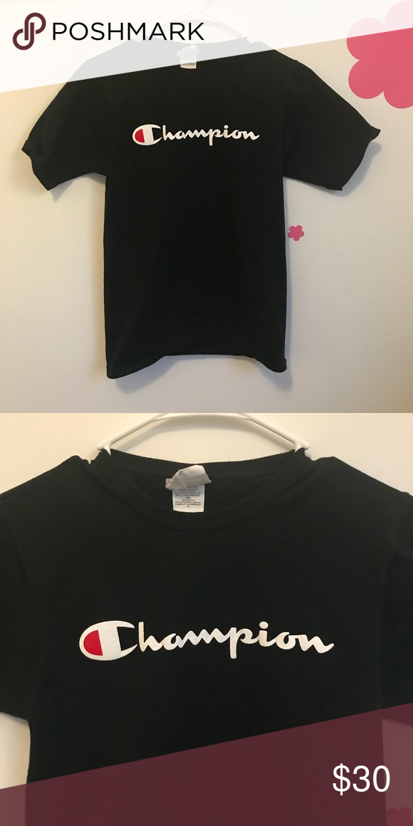 fd76d0f343eb Champion Tee size small. GREAT condition. No trades. Champion Tops Tees - Short  Sleeve