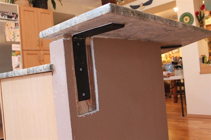 Our Front Mounting Countertop Supports For Granite Or Other Solid