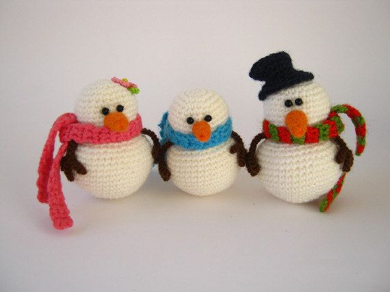 The snowmen's family