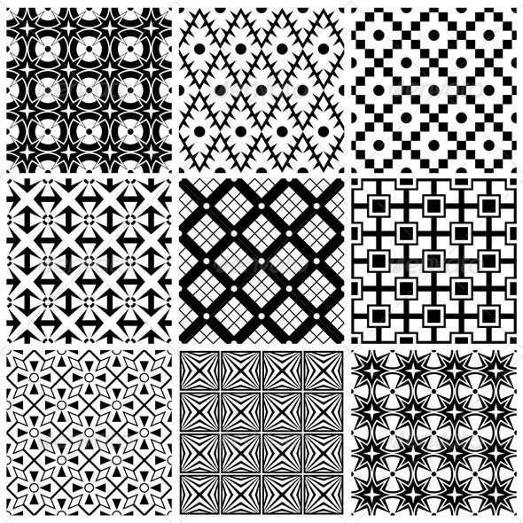 Simple Black And White Patterns White pattern wallpaper