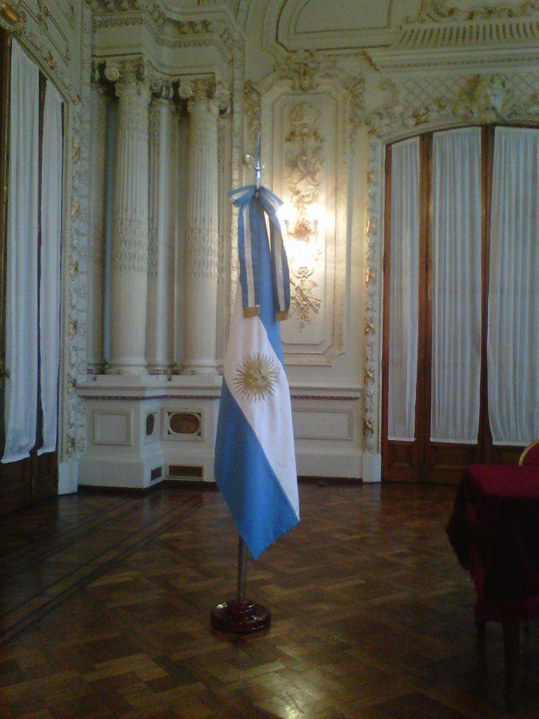 Bandera Argentina de Ceremonias